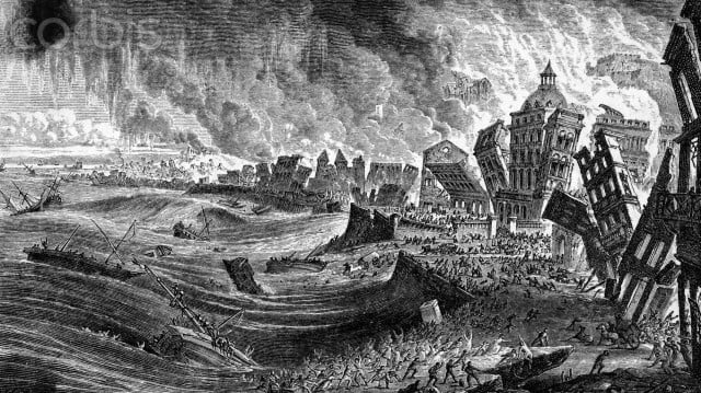 The Earthquake at Lisbon in 1755 by Pearson