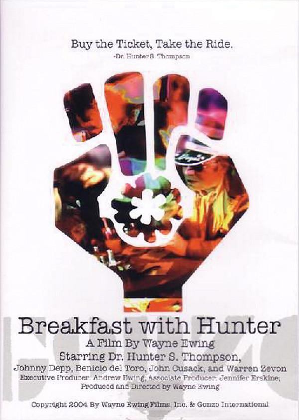 پوستر یک فیلم مستند درباره نویسنده، هانتر