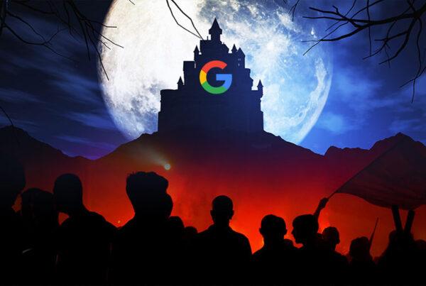 بندگی برابر فناوری - گوگل دشمن بشریت